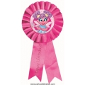 Abby Cadabby Party Happy Birthday Badge / Award Ribbon
