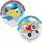 Planes Airplane Adventure Dinner Plates (8)