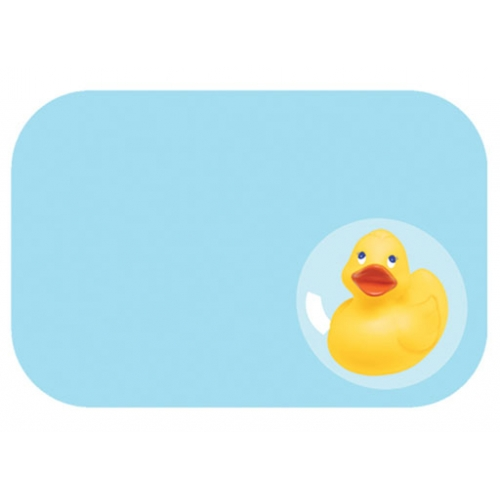 Rubber Ducky Baby Shower Name Tags
