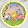 Nighty Night Bazooples Baby Shower Luncheon Plate