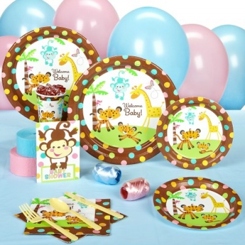 fisher price baby shower premium party pack bubbles and rainbows
