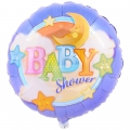 Baby Stars and Moon Foil Balloon 18""