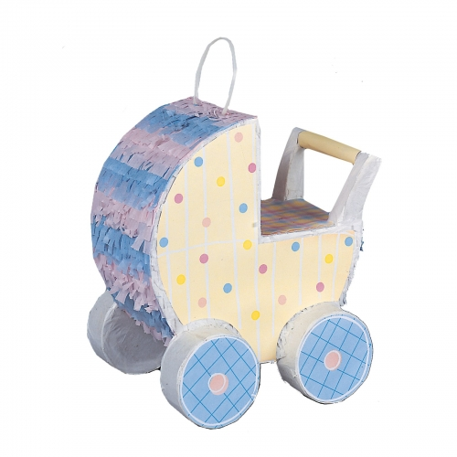 baby pram pinata bubbles and rainbows party supplies and gift lines