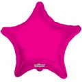 "Balloons Pink Star Foil 18"" / 46cm"