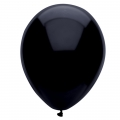 Black Latex Balloons 6 Pack