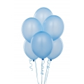 Light Blue Latex Balloons 6 Pack