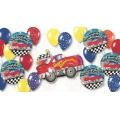 Sports Racing Car Deluxe Balloon Pack