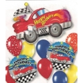 Sports Racing Car Super Balloon Pack