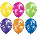 Clown Faces Fantasy Latex Balloons