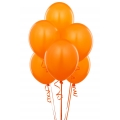 Orange Latex Balloons 6 Pack