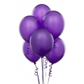 Purple Latex Balloons 6 Pack
