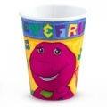 Barney the friendly Dinosaur Party Cups (8)