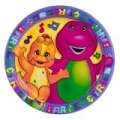 Barney the friendly Dinosaur Party Dessert Plates (8)