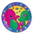 Barney the friendly Dinosaur Party Dinner Plates (8)