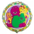"Barney the friendly Dinosaur & Friends 18 "" Foil Balloon"
