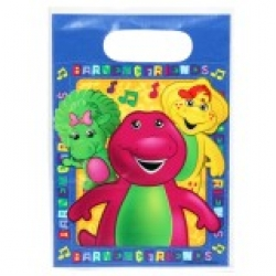 Barney the friendly Dinosaur Party Loot Bags (8)