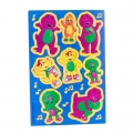 Barney the friendly Dinosaur Party Sticker Sheets (1)