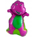 Barney the friendly Dinosaur HUGE Super Shape Foil Balloon