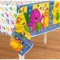 Barney the friendly Dinosaur Party Tablecover