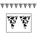 Cow Print Banner 4m long Farm Theme