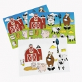 Farm Party Sticker Sheet 21 stickers (1)
