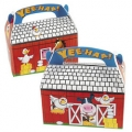 Farm Animal Empty Favor Boxes ~  (4)