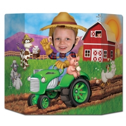 Tractor Farm Photo Prop HUGE ~ Pre Order