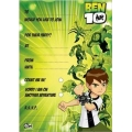 Ben 10 Party Invites HUGE 20 Pack
