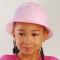 Child Size Builders Construction Hat PINK (1)