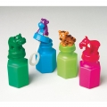 Bubble Bottle Animal Heads Pack of 4