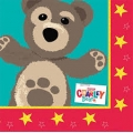 Little Charley Bear Napkins (16)