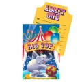 Circus Big Top Birthday Invites(8) ~ Out of Stock
