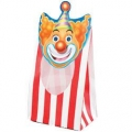 Circus Big Top Birthday Loot / Party Bag with see through window (8)