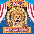 Circus Big Top Birthday Napkin (16)