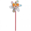Circus Big Top Birthday Clown Pinwheels (4 pack)
