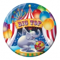Circus Big Top Birthday Dinner Plates (8)