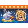 Circus Big Top Birthday Tablecover (1), 