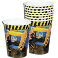Under Construction Builder Party Cups (8)