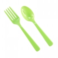 Cutlery Lime Green (16)