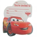 Disney Cars Invites