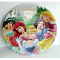 Disney Princess Party Plates with Cinderella