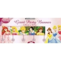 Disney Princess Party Banner with Cinderella