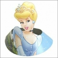 Disney Princess Party Hats with Cinderella