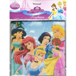 Disney Princess Party Napkins with Cinderella