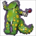 Dorothy the Dinosaur Shaped Foil Balloon LARGE