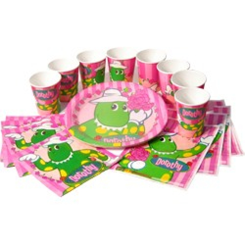 Dorothy the Dinosaur Party Pack 40 pieces 1 only Bubbles and