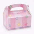 Pink with pastel stars Empty Favor Boxes (4)