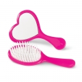 Brush and Mirror Set in Pink (1 set)