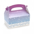 Cyan and Fuchsia with Stars Empty Favor Boxes (4)