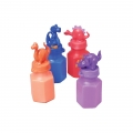 Bubble Bottle Dinosaur Heads Pack of 4